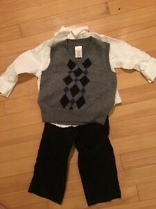 Gymboree boys holiday outfit