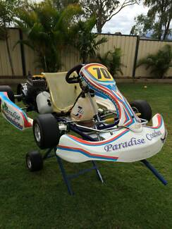 Go Kart trailer complete with two Arrow race karts Gracemere Rockhampton City Preview