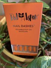 Red aspen Nail Dashes Mani ORANGE SUNSETSIN THE SKYE | eBay