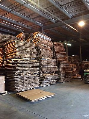 Used Cardboard Corrugated Gaylord Full Flap Boxes Large