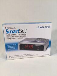 Emerson Research SmartSet Sure Alarm Dual Alarm Clock Radio CKS1855 NEW in Box