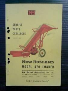 Service Parts Catalog for NH Bale Loader Forbes Forbes Area Preview
