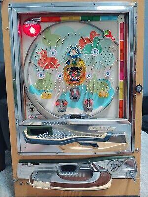 "Beautiful Fun to Play 1975 Vintage Nishijin ""Cool Dude"" Pachinko Machine"