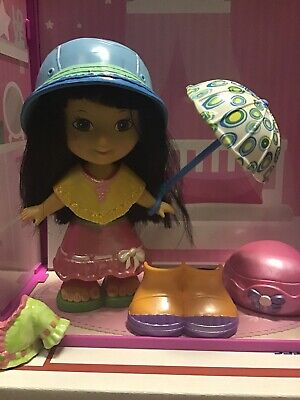 Fisher Price Snap N Style Doll Rainy Day