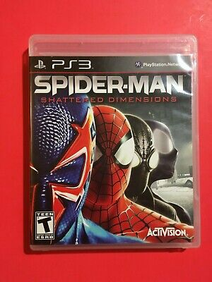 Spider-Man: Shattered Dimensions (Sony PlayStation 3, 2010) FREE SHIPPING!