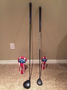 Callaway XR 16 Driver and 3 Wood