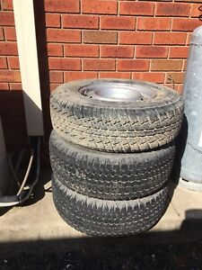 Tyres 245/70R16