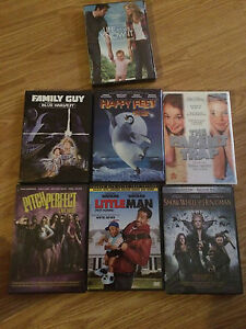 Unopened assorted Movies