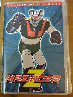 Mazinger Z 10 DVD Comple Serie Boxset Audio in Original Latin Spanish OFFICIAL
