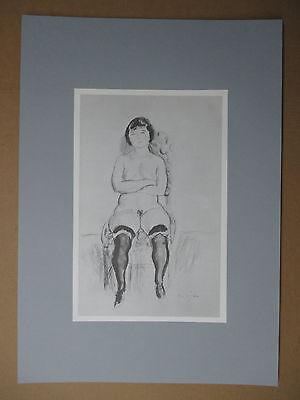 Aktzeichnung-Litho-Erotik - Art.-Nr.: 83-C - (42 x 29,7cm, DIN A3)