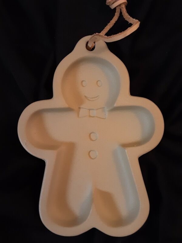 Gingerbread Man Clay Cookie Mold