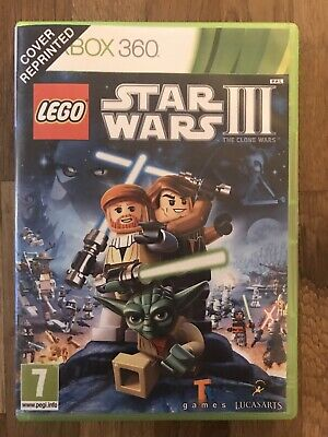 XBOX 360 Lego Star Wars 3: The Clone Wars Game