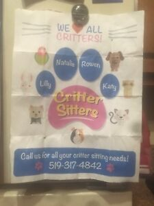 Pet sitting  ignore address above call 519-403-6661