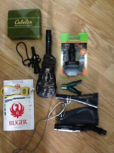 Elk calls and other hunting stuff