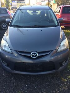 2009 Mazda 5 Minivan Safety +E-test included
