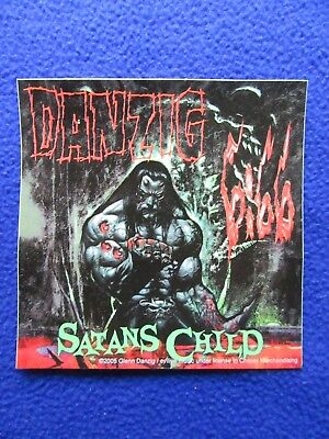 ~~ DANZIG SATANS CHILD ~ AWESOME! ALBUM PROMO STICKER ~ 2005 ~ LAST ONE! ~~