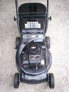 BRIGGS STRATTON 4 STROKE,MASPORT SERVICED LAWN MOWER!CATCHER. Runcorn Brisbane South West Preview