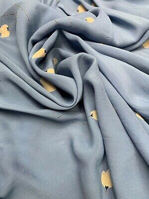- Tulip Design on Non-Stretch CDC Polyester Fabric