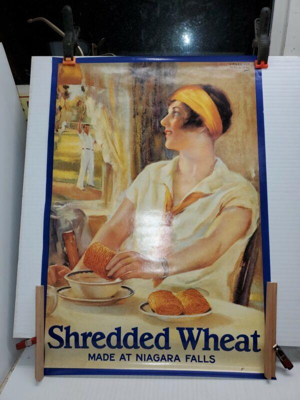 Vintage Shredded Wheat Poster
