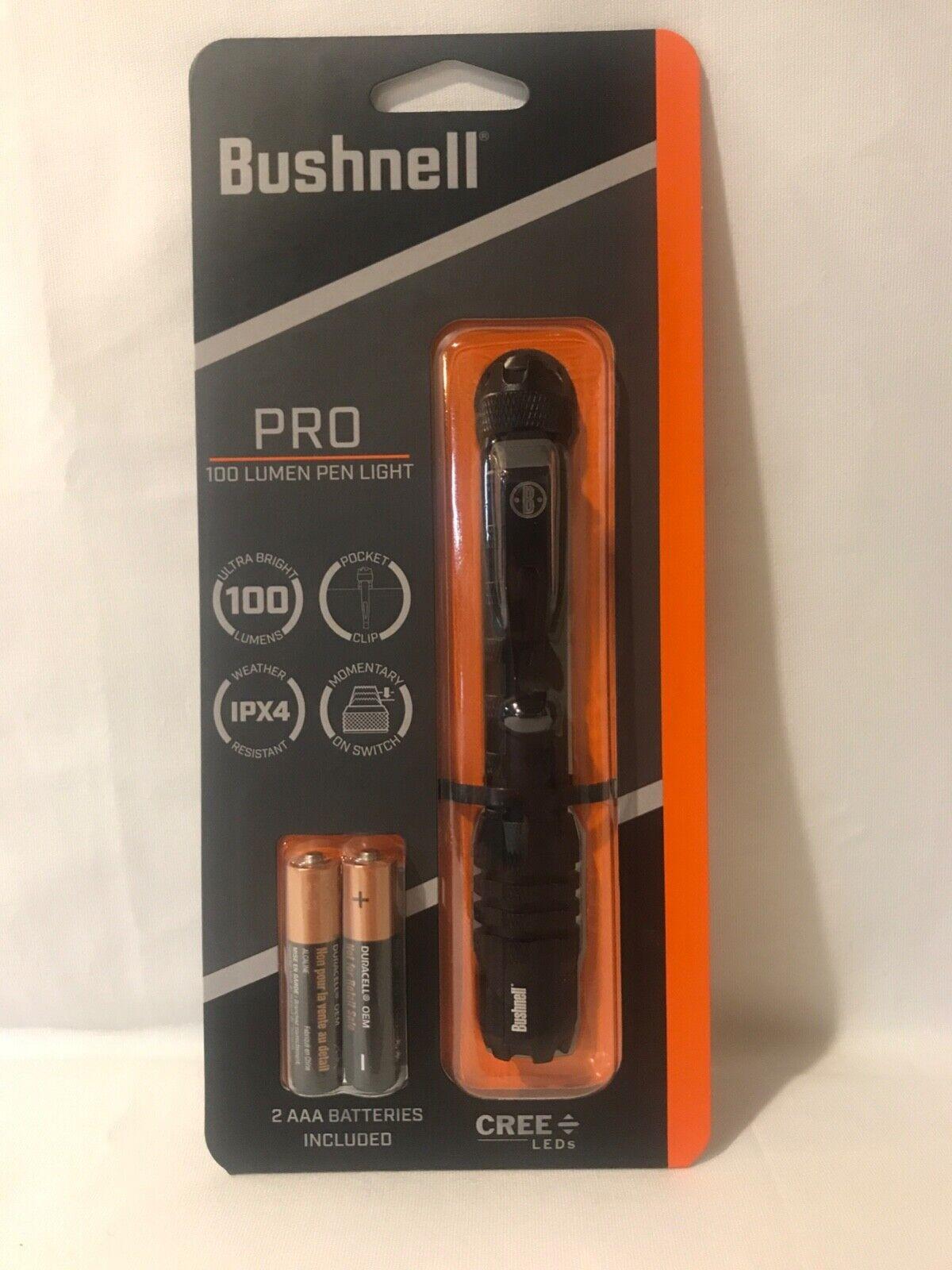 Bushnell Tactical PRO 100 Lumen Pen Light Flashlight #20150