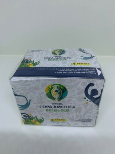 Panini Conmebol Copa America Brasil 2019  50 Packs = 250 Stickers