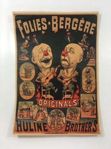 Circus Clown Freak Show Poster Freakshow Print