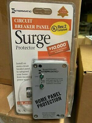 Intermatic Circuit Breaker Panel Surge Protector Eg240rc Home Panel Protection