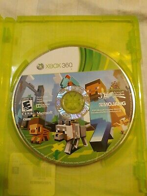 Minecraft (Microsoft Xbox 360, 2013) Video Game Disc Only Tested Free Shipping