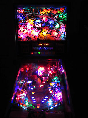 Earthshaker Complete LED Lighting Kit custom SUPER BRIGHT PINBALL LED KIT