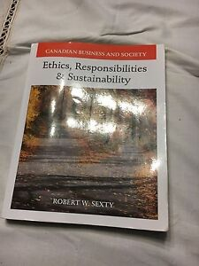 Text Book Ethics,Responsibility &Sustainability
