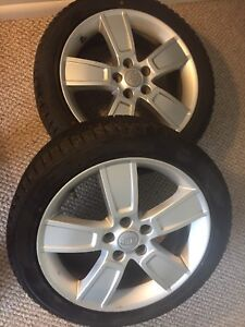 Set of 2 Winter Tires like new 225/45R18