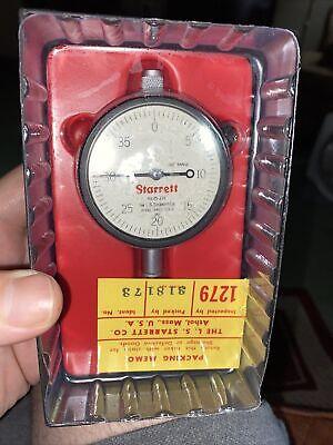 Starrett Dial Indicator Model 25-238 Boxed New Old Stock
