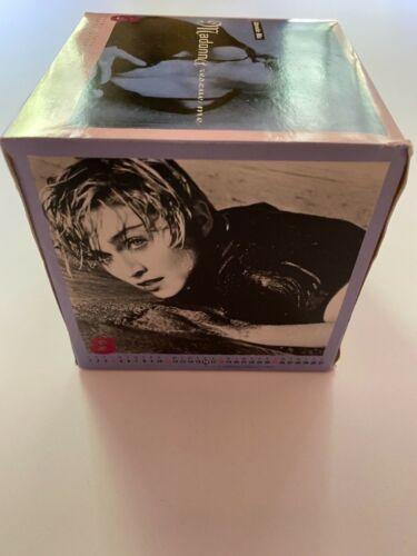 Madonna Rescue Me Remixes Promotional 1991 Calendar Picture Cube - Rare!
