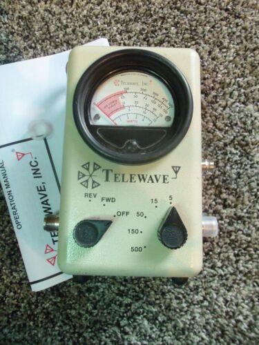 Telewave 44A 44AP Thruline Watt Meter / Bird 43 4304A Type