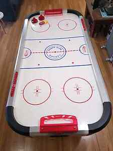 Halex Air Hockey Table with Heavy Duty Canvas Cover Salamander Bay Port Stephens Area Preview