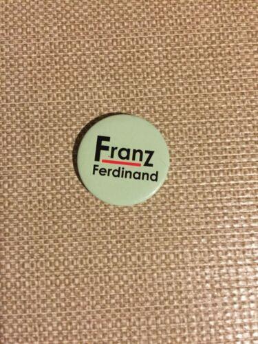 FRANZ FERDINAND Logo Button Green Pin Badge classic logo