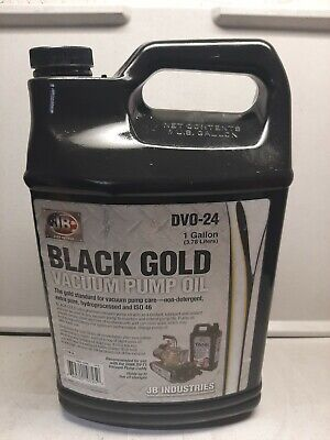 Jb Dvo-24 Black Gold Vacuum Pump Oil 1 Gallon