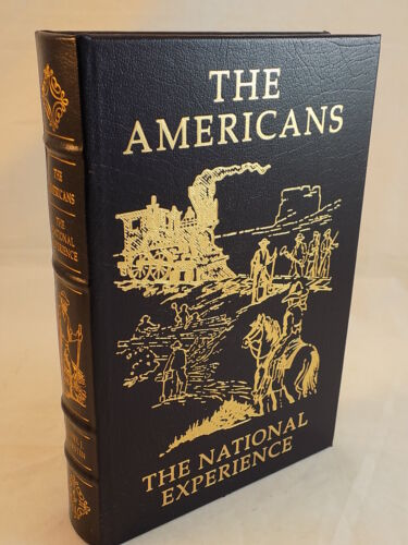 THE EASTON PRESS - THE AMERICANS DANIEL J. BOORSTIN LEATHER BOUND LIKE NEW