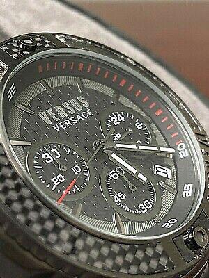 Versus Versace Chronograph Stainless Steel Men's Watch VSP381018 SOLD AS IS