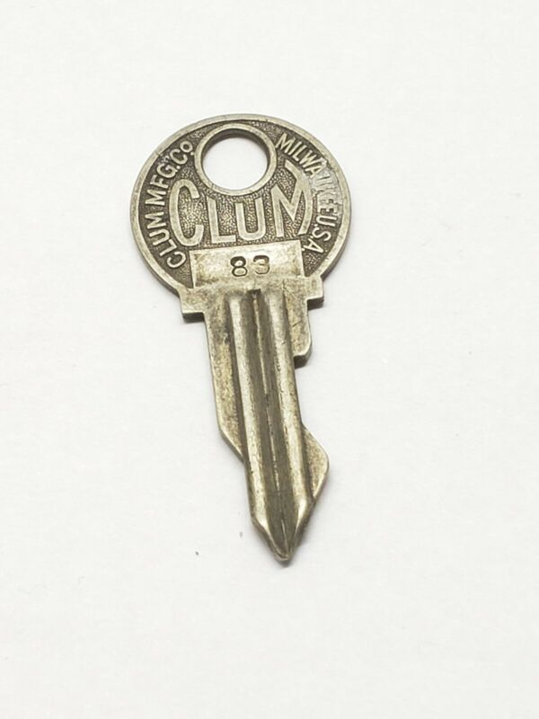 Dodge Brothers Clum antique automotive key, 83, locksmith