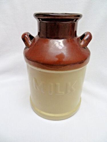 Stoneware Glaze Milk Can Container Vase