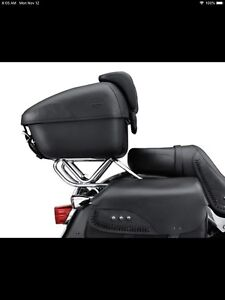 Softail two up tour pack rack