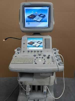 Ge Logiq 7 Ultrasound Machine With 2 Probes 7s M3s Fully Tested