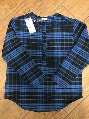 Violeta e Federico Boys Size 6 Plaid Shirt