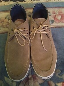Mens Forge Sand Suede Shoes