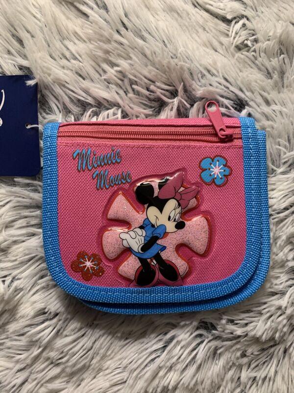 Disney Minnie Mouse Cute Kids Children Girls Crossbody Bag Purse Pink