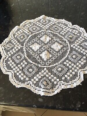 Large Vintage Crochet Doilie