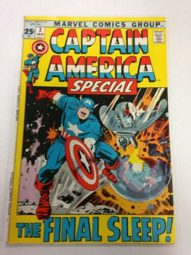 Captain America Special #2 January 1972 Annual