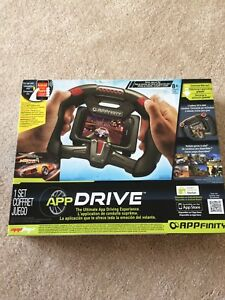 App drive racing steering wheel
