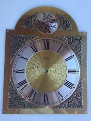 TEMPUS FUGIT grandfather clock dial face